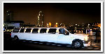 Chauffeur stretched white Lincoln Navigator limousine hire in London, Berkshire, Surrey, Buckinghamshire, Hertfordshire, Essex, Kent, Hampshire, Northamptonshire